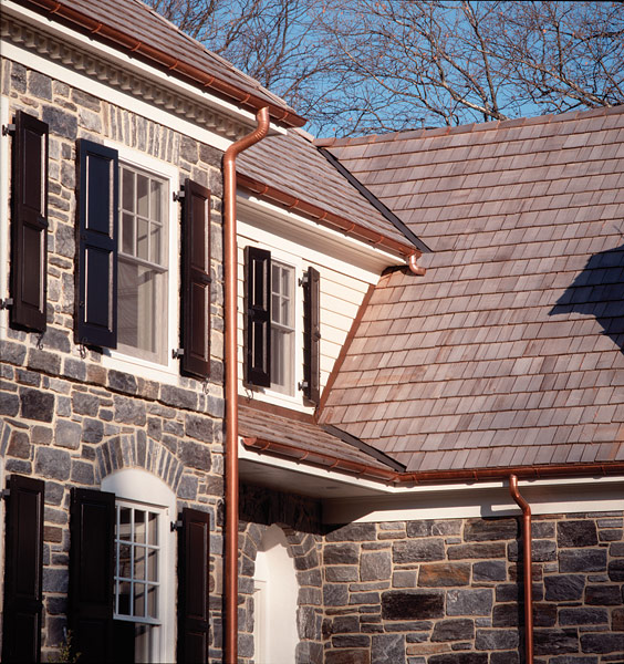 Loring Building Productsberger Copper Halfround Gutters